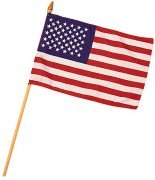 Rothco Mini American Flag (8'' x 12'') 1445
