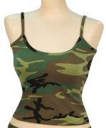 Rothco Women Tank Top Woodland Camo 4476