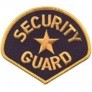 Нашивка Security Guard Star Patch