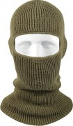 Маска Wisconsin Knitwear® Acrylic One-Hole Face Mask - Olive Drab - 5501