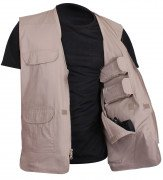 Rothco Lightweight Professional Concealed Carry Vest Khaki