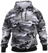 Rothco Pullover Hooded Sweatshirt City Camo 2690