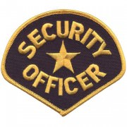 Нашивка Security Officer Star Patch