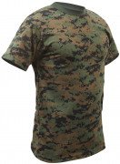 Rothco T-Shirt Woodland Digital Camouflage 6494