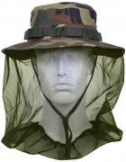 Rothco Boonie Hat With Mosquito Netting Woodland Camo 5833