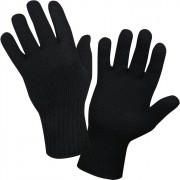 Перчатки Newberry Knitting® Wool Glove Liners - Black - 8518