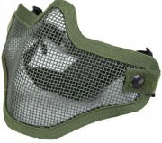 Bravo Tac Gear Strike Steel Half Face Mask Olive Drab 857