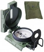 Cammenga G.I. Military Phosphorescent Lensatic Compass Olive Drab 415