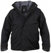 Rothco All Weather 3 In 1 Jacket Black - 7704