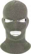 Маска Wisconsin Knitwear® Acrylic Three-Hole Face Mask - Foliage Green - 5463