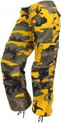 Rothco Womens Paratrooper Pant Stinger Yellow Camo D3786