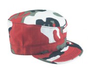 Кепка Ultra Force™ Adjustable Military Cap - Red Chameleon Camo