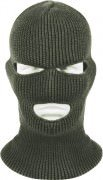Маска Wisconsin Knitwear® Acrylic Three-Hole Face Mask - Olive Drab - 5503