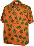 Men's Hawaiian Shirts Allover Prints - 410-3892 Orange
