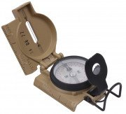 Cammenga G.I. Military Phosphorescent Lensatic Compass Coyote Brown 445