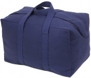 Rothco Canvas Small Parachute Cargo Bag Navy Blue 8103