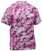 Rothco T-Shirt Pink Digital Camo 8957