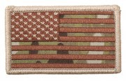 Rothco U.S. Flag Velcro Patch - MultiCam™ / Forward - 17771