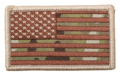 Патч флаг США Rothco U.S. Flag Velcro Patch - MultiCam™ / Forward - 17771, фото