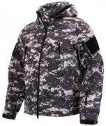 Rothco Special Ops Tactical Soft Shell Jacket Subdued Urban Digital Camo - 98701