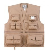 Rothco Kid's Uncle Milty's Travel Vest Khaki