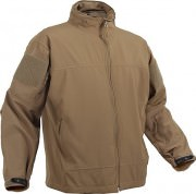 Rothco Covert Ops Light Weight Soft Shell Jacket Coyote - 5862