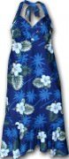 Pacific Legend Halter Dress - 328-2798 Navy
