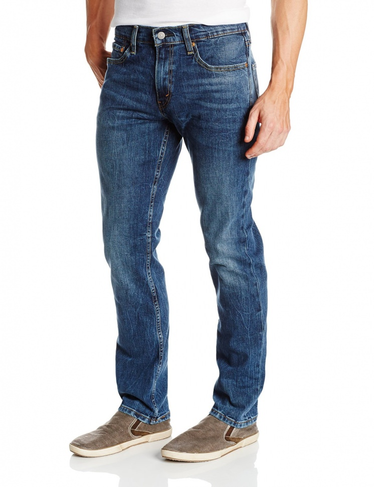 Loose Fit Bootcut Jeans For Men