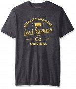 Levi's Men's Apache T-Shirt Charcoal Heather