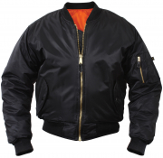 Rothco Kids MA-1 Flight Jackets Black 7311