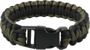 Rothco Deluxe Paracord Bracelets Olive Drab / Black 967
