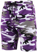 Rothco Sweat Shorts Ultra Violet Camo 1725