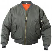 Rothco Kids MA-1 Flight Jackets Sage Green 7310