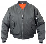 Rothco MA-1 Flight Jacket Gun Metal Grey 7350