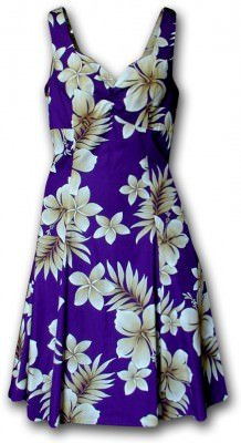 Сарафан гавайский Pacific Legend Sun Dress - 330-3559 Purple, фото