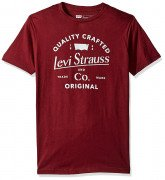 Levi's Men's Apache T-Shirt Burgundy
