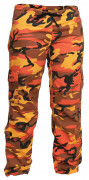 Rothco Womens Paratrooper Pant Savage Orange Camo 3784
