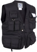 Rothco Uncle Milty Travel Vest Black 7531
