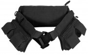 Поясная сумка Rothco Canvas 7 Pocket Fanny Pack - Black - 4258