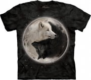 Футболка The Mountain - Yin Yang Wolves - 103922