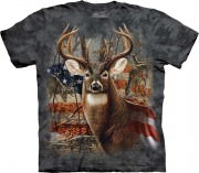 Футболка The Mountain - Patriotic Buck - 103709