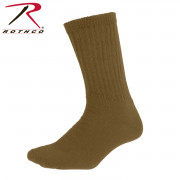 Elder Hosiery Athletic Crew Socks Coyote Brown 6427