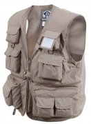 Rothco Uncle Milty Travel Vest Khaki 7546