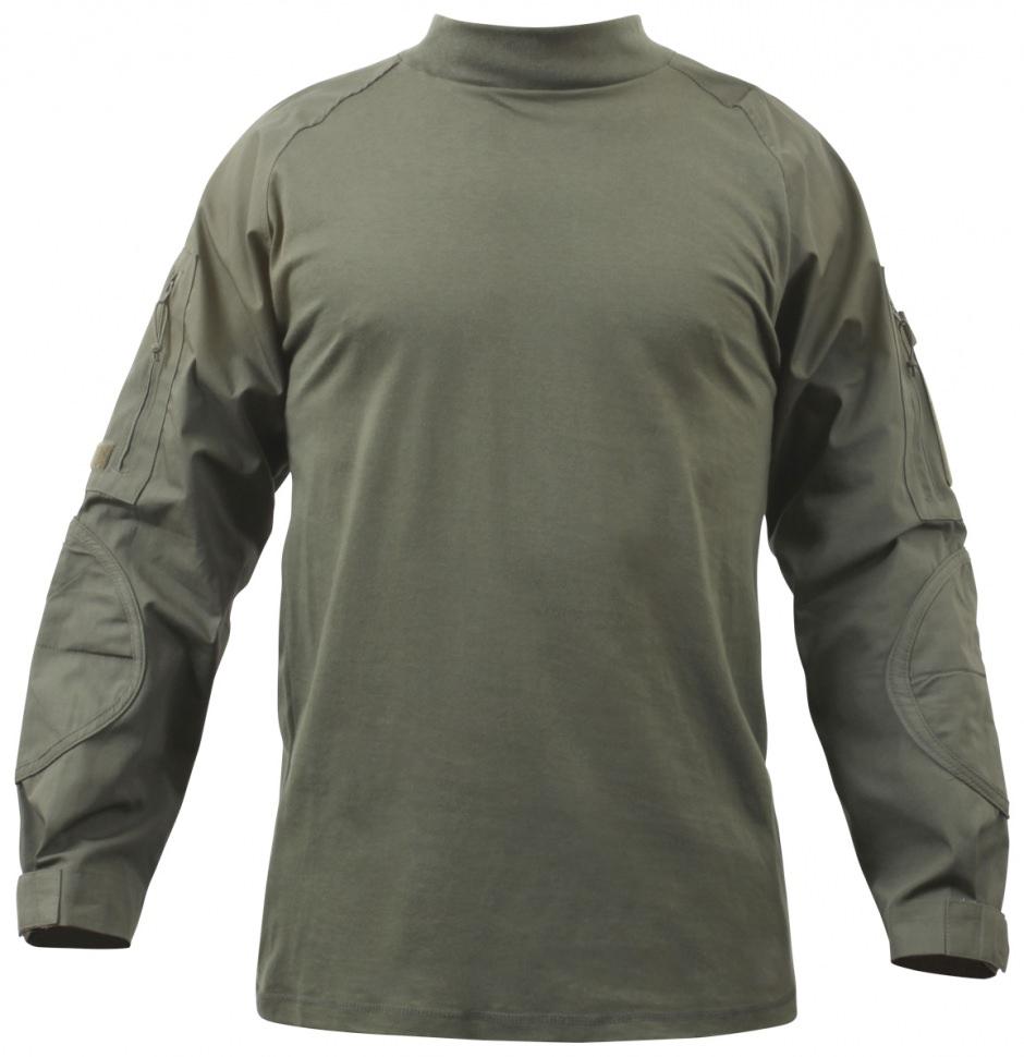 Rothco 90015 Olive Drab Military Combat Shirt