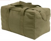 Rothco Canvas Small Parachute Cargo Bag Olive Drab 7028