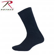 Elder Hosiery Athletic Crew Socks Navy Blue 6329