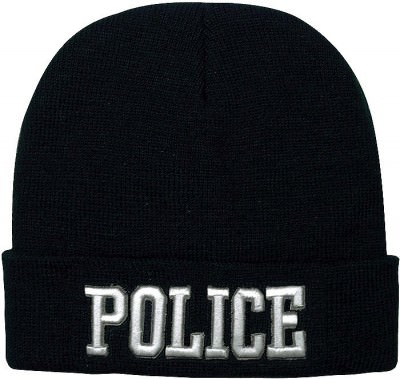 "Шапка акриловая Rothco Deluxe ""Police"" Embroidered Watch Cap 5449, фото"