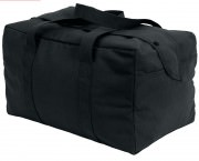 Сумка Rothco Canvas Small Parachute Cargo Bag - Black # 8107