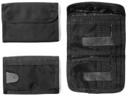 Rothco Deluxe Tri-Fold ID Wallet Black 11629