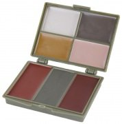 Rothco Military Face Paint Compact 7 Colors (Woodland/Desert) # 8219